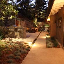 narrow back yards