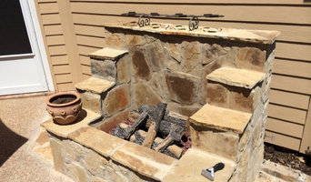 Outdoor Fireplace - Arlington TX