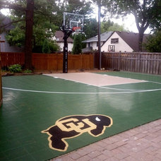 Traditional Landscape by SnapSports® Athletic Floors & Courts