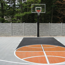 Traditional Landscape by Sport Court Ohio