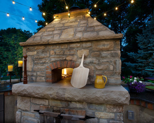 backyard pizza oven home design ideas pictures remodel
