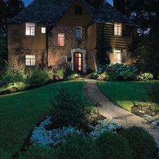 Traditional Landscape by Poynter Landscape Architecture & Construction