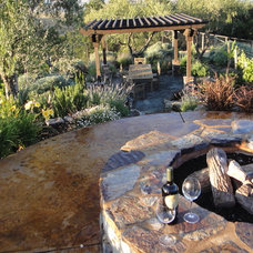Traditional Landscape by Alder Group, Pool and Landscape Co.