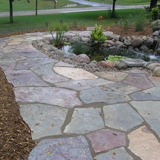 Traditional Landscape by Benson Stone Company