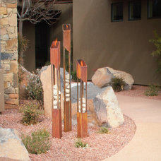 Contemporary Landscape by Terra Flame Home