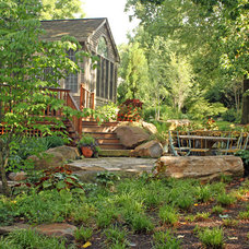 Traditional Landscape by Wallace Landscape Associates