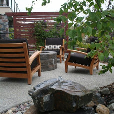 Contemporary Landscape by Your Space By Design