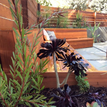 Outdoor space transformation - AFTER
