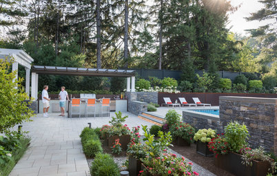 Elegant Boston Backyard Serves Up Style and Year-Round Enjoyment