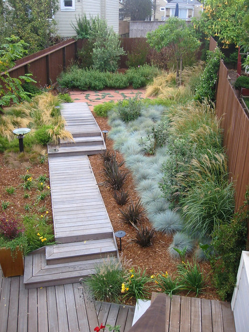 Charmant Design Ideas For A Mid Sized Contemporary Backyard Landscaping In San  Francisco With Decking.