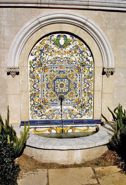 Mediterranean Landscape by Tile Visions