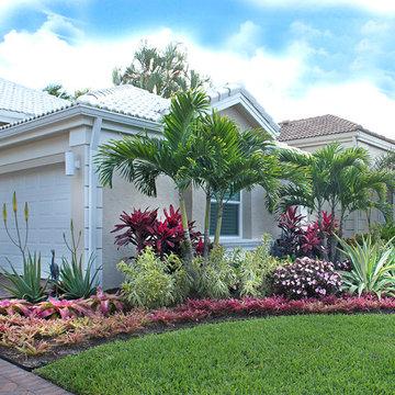 Palm Beach Gardens Tropical Landscape