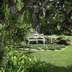 tropical landscape by Jeff Blakely,ASLA