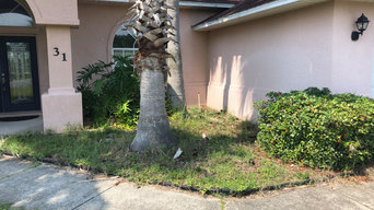 Palm Coast landscaping remodel