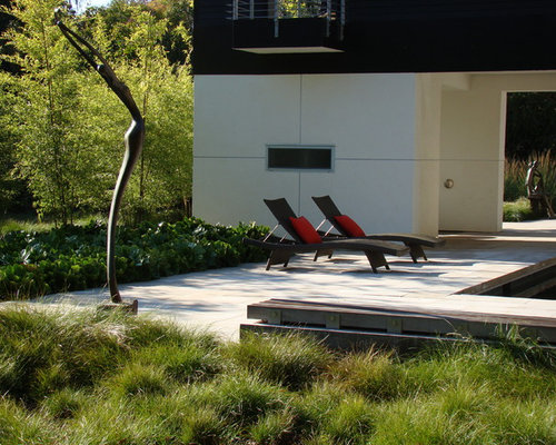 Pool landscaping with ornamental grasses : Best ornamental grass design ideas remodel pictures houzz