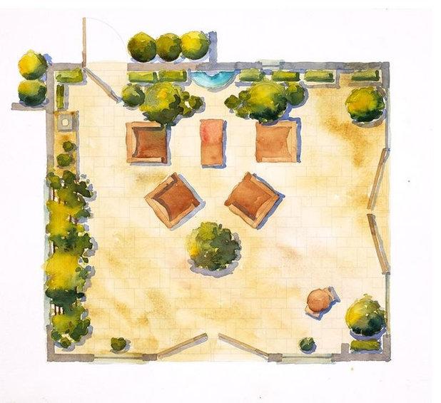 Garden by Lenkin Design Inc: Landscape and Garden Design
