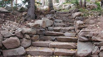 Park City, Utah Outdoor Stonework