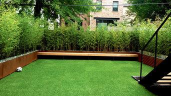 Park Slope Brownstone Backyard