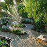 parterre-inspired veggie garden