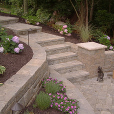 Traditional Landscape by Comfort Zones Landscaping LLC