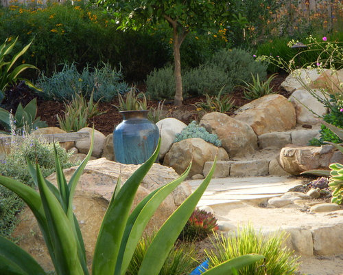 Boulders With Plants Landscaping Ideas Houzz