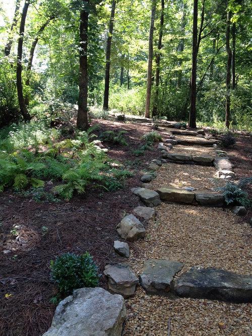 Fotos de jardines dise os de caminos de jard n r sticos for 500 hillside terrace bessemer al