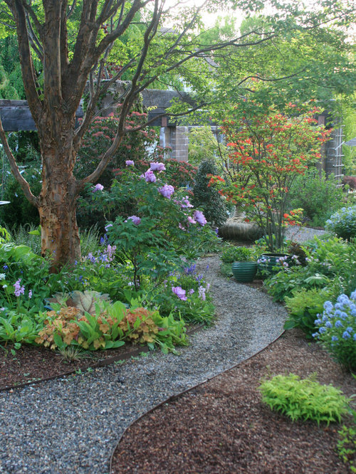 Gravel path ideas pictures remodel and decor Types of pathways in landscaping