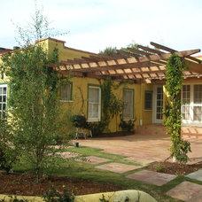 Mediterranean Landscape by Stout Design-Build