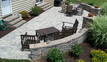 Patio, Retaining Wall and Landscaping