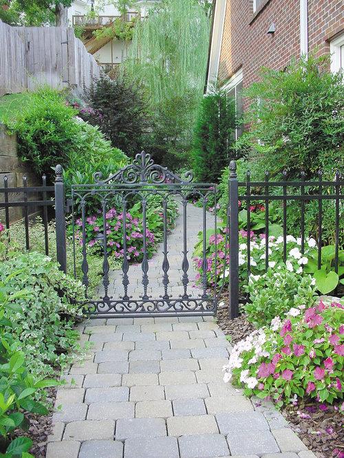 Wrought Iron Garden Fences Houzz