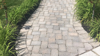 Paver Walk Path