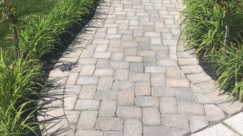 Paver Walk Path