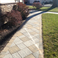 Contemporary Landscape by Brick by Brick Pavers and Landscaping, LLC.