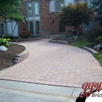 Paver Walkway Design Ideas Traditional Landscape