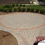 Paver Walkway Design Ideas Traditional Landscape