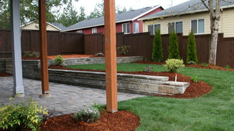 Pavers, Sod Plants, Walls, & Irrigation