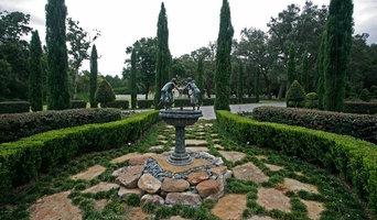 Peaceful Garden with Walkway