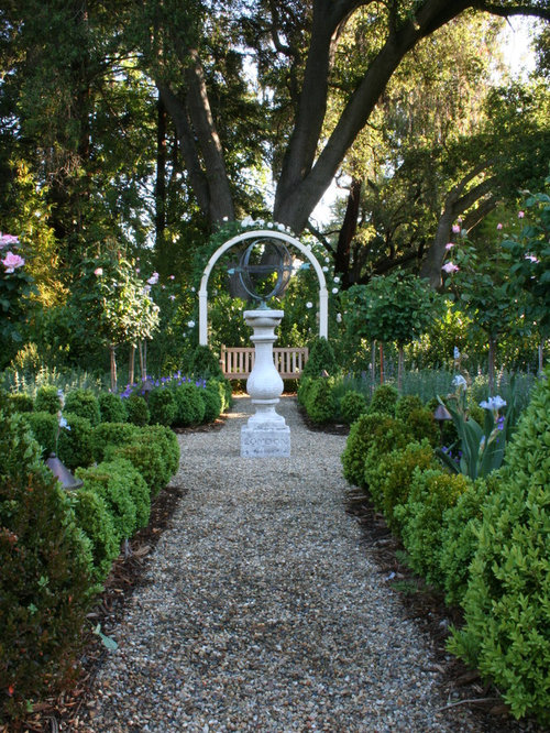 Garden focal point home design ideas pictures remodel and decor - French style gardens ...