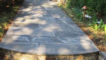 Pennsylvania Bluestone Walkway