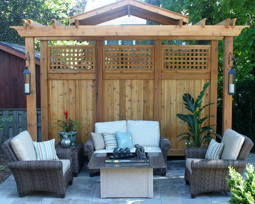 Cedar Privacy Screen Houzz