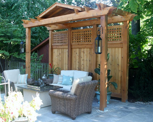 SaveEmail - Best Pergola Privacy Screen Design Ideas & Remodel Pictures Houzz