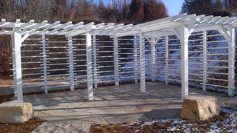 Pergola Screen, East Troy WI 2010
