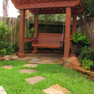 Inspiration for a contemporary landscaping in Houston.
