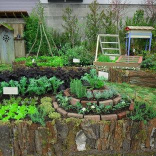 Permaculture Kitchen Garden - Herb Spiral