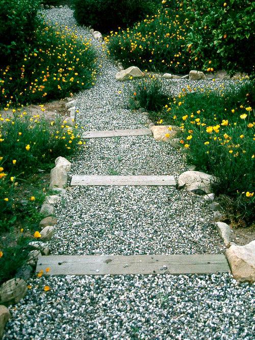 Fotos de jardines dise os de jardines r sticos en invierno for Caminos de jardines rusticos