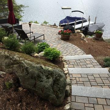 Permeable Paver Lakeside Patio