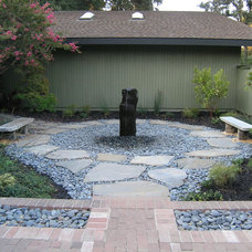 Asian Landscape by Peter Ivancovich Landscape Design
