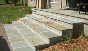 Peterborough, natural stone steps