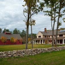 Traditional Landscape by Sheldon Pennoyer Architects