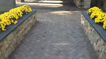 PF Cook Brick Outdoor Living Pavilion